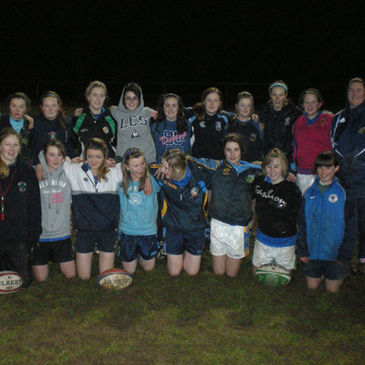 The girls on a training night at Nenagh Ormond