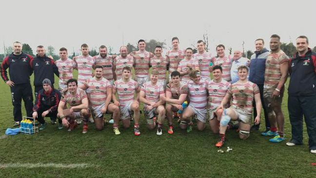 The Nenagh Ormond squad that won in Belfast