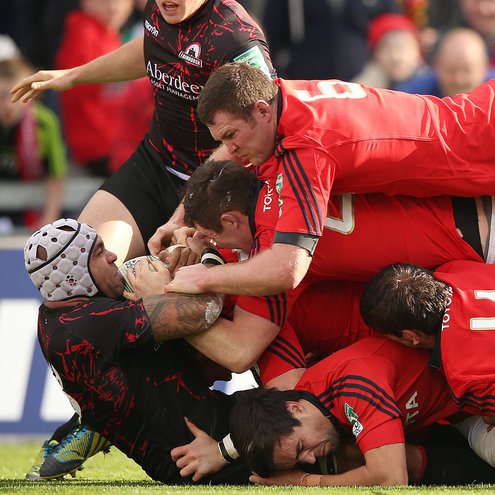 Photos of Munster's bonus point success at home to Edinburgh
