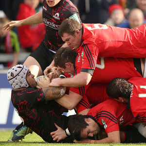 Munster 33 Edinburgh 0, Thomond Park, Sunday, October 21, 2012