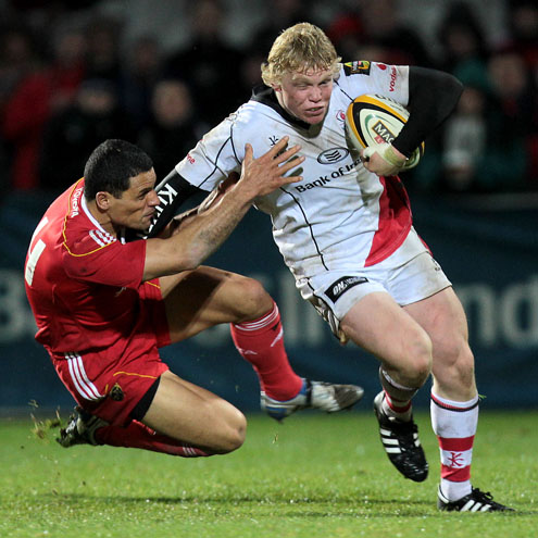 Nevin Spence in action for Ulster