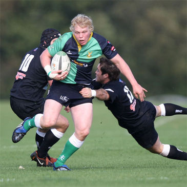 Nevin Spence in action for Ballynahinch