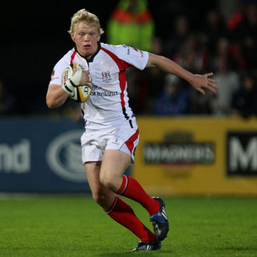 Nevin Spence in action for Ulster against Viadana