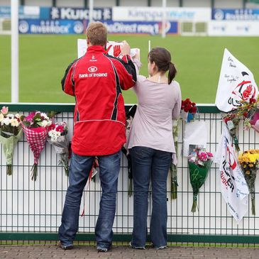 Fans has been paying their respects at Ravenhill