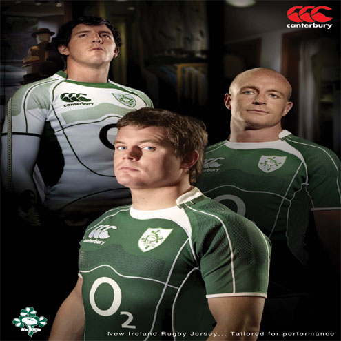 Rugby : News Archive : Tailored Performance - Ireland Rugby World Cup ...