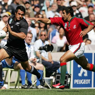 Portugal lost to the All Black during the 2007 Rugby World Cup