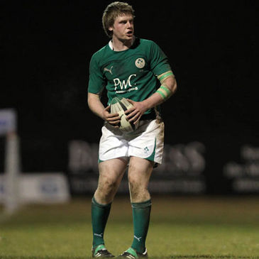 Ireland U-20 Captain Nial Annett