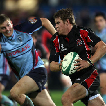 Niall O'Connor on the attack against Bedford