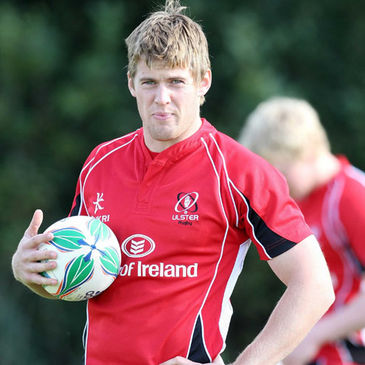 Niall O'Connor training with the Ulster squad