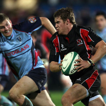 Niall O'Connor in action for Ulster Ravens against Bedford