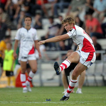 Ulster's Niall O'Connor in Magners League action