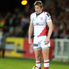 Ulster out-half Niall O'Connor had an up-and-down night with the boot, landing four of his eight place-kicks