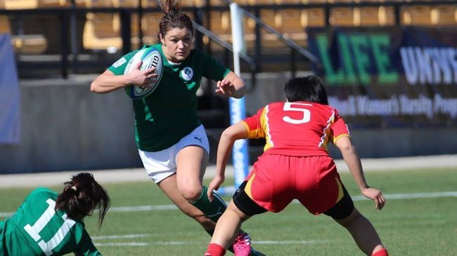Ireland Women's Sevens Squad At Atlanta Sevens, Friday, February 14-Saturday, February 15, 2014