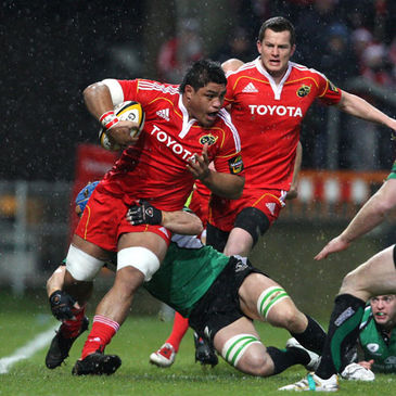 Nick Williams crossed a try in Munster's final pool game