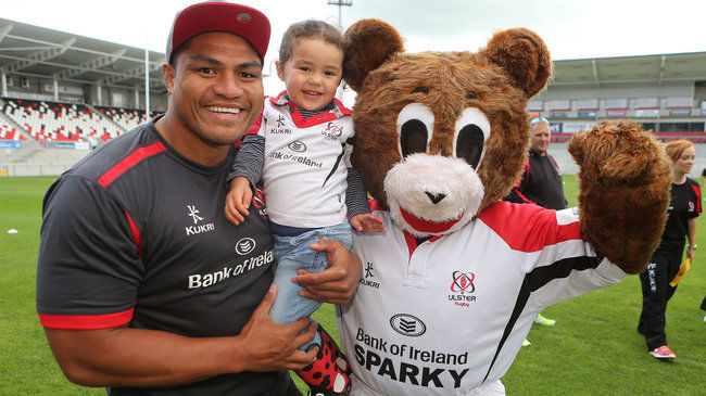 Fans Have A Ball At Ulster Rugby Family Open Day