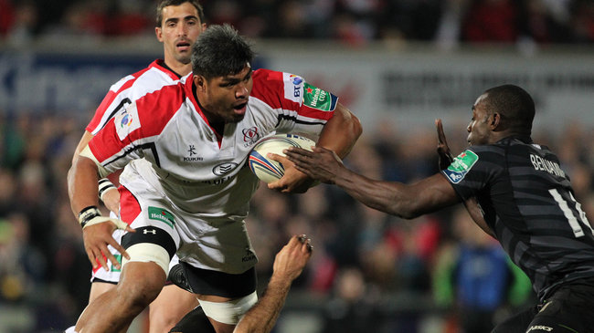 Nick Williams in Heineken Cup action for Ulster