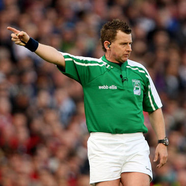 Heineken Cup final referee Nigel Owens