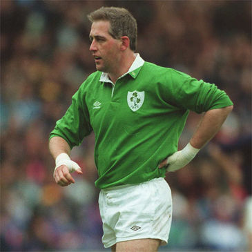 Former Ireland number 8 Noel Mannion