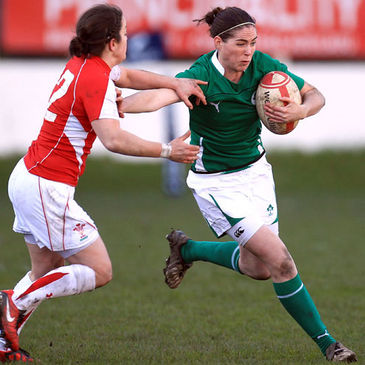 Ireland Women's out-half Nora Stapleton