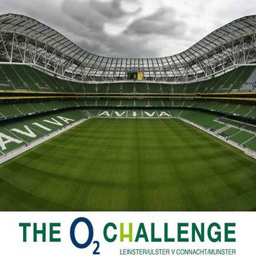 The O2 Challenge will take place at the Aviva Stadium