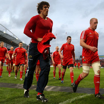Munster's Donncha O'Callaghan and Paul O'Connell