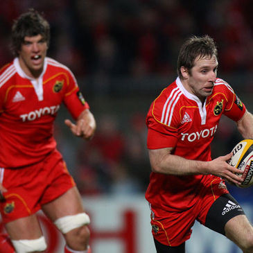 Munster's Donncha O'Callaghan and Tomas O'Leary