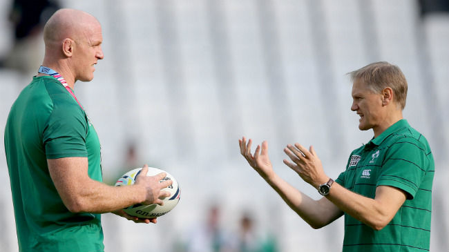 Irish Rugby TV: Schmidt, Best And Kearney On Paul O'Connell