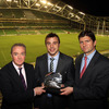 Receiving his award at the Aviva Stadium, Tommy Bowe said: 'It's an honour to have my name with some of the amazing previous winners.'