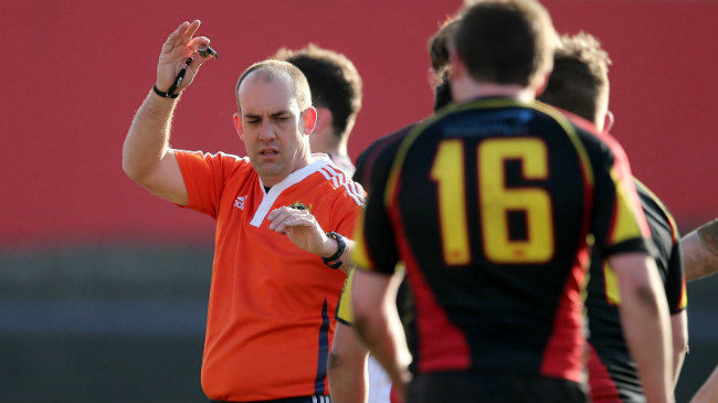IRFU Referee Appointments At Home And Abroad