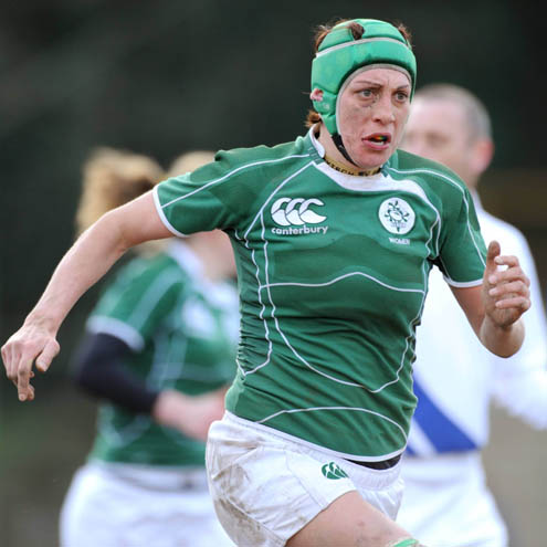 Orla Brennan on the charge