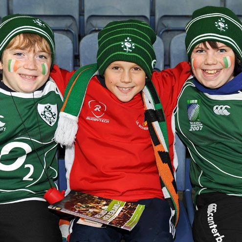 Fans At Ireland v New Zealand, Croke Park, Saturday, November 15, 2008