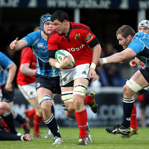 Young back rower Paddy Butler will start for Munster