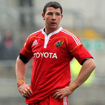 Munster back rower Paddy Butler