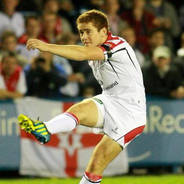 Ulster out-half Paddy Jackson