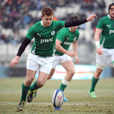 Ireland Under-20 out-half Paddy Jackson