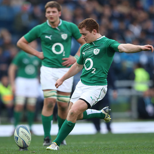 Young out-half Paddy Jackson