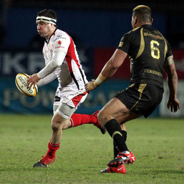 Ulster's Paddy Wallace in action against the Ospreys