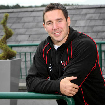 Ulster and Ireland centre Paddy Wallace