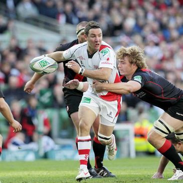 Ulster beat Edinburgh at the Aviva Stadium last year