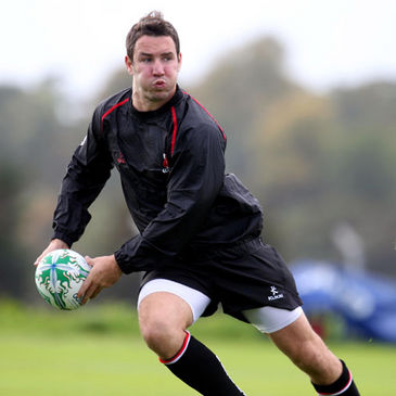 Ulster's Paddy Wallace is pictured training at Newforge