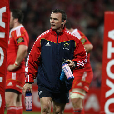 Munster's head of strength & conditioning Paul Darbyshire