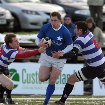 Paul Gillespie on the attack for St. Mary's College