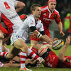 Scrum half Paul Marshall was to the fore during a lively opening quarter from Ulster, who moved into a 10-0 lead