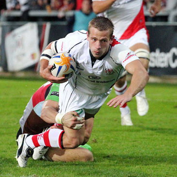 Scrum half Paul Marshall was one of Ulster's try scorers