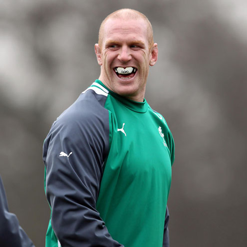 Photos of the Ireland players training at Carton House in Maynooth