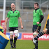 Paul O'Connell and Donnacha Ryan are among the players who are back on provinicial duty just weeks after Ireland's Rugby World Cup exit