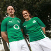 Paul O'Connell and Fiona Coghlan also met up to wish each other the best ahead of their respective Championship campaign, with Coghlan's girls in green facing Wales in Ashbourne on Friday, February 3