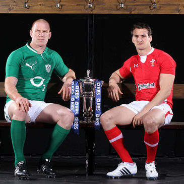 Captains Paul O'Connell and Sam Warburton