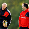 Between them, Paul O'Connell and Anthony Foley boast 311 Munster caps and 132 Ireland caps