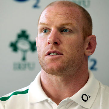 Ireland second row Paul O'Connell